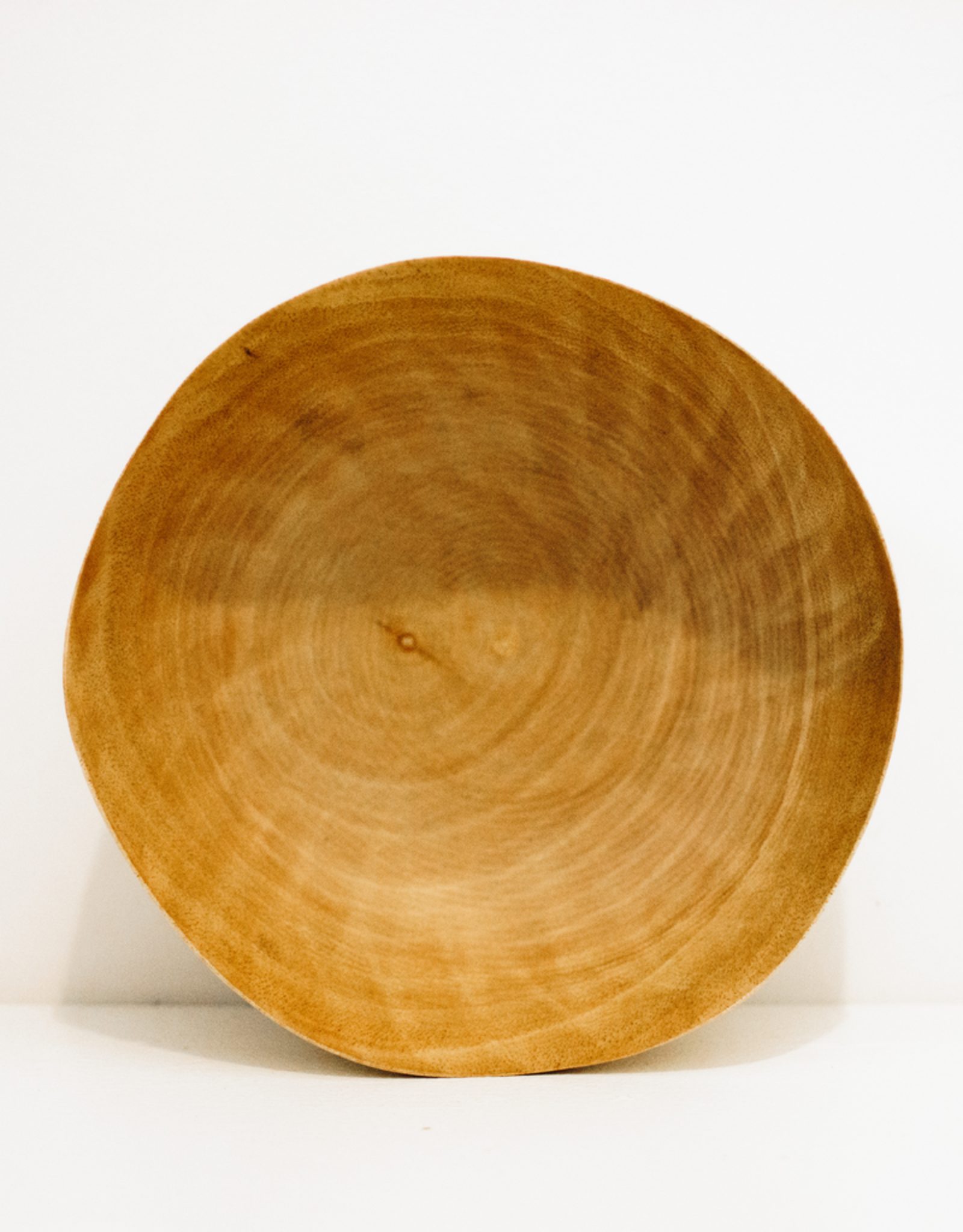 Medium Mango Wood Bowl With Wave Edge