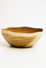 Small Mango Wood Wave Edge Bowl