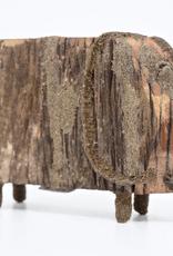 Elephant, Wooden, Large