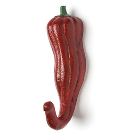 Red Chili Pepper Hook 6""