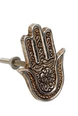 Hamsa Hand Knob
