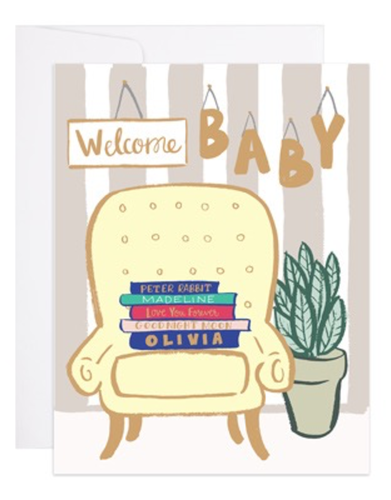 Card, Baby Books