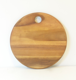 Round Acacia Cheese Board, Small