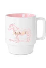 Mug, Smart Donkey, Ceramic - Vintage Sass