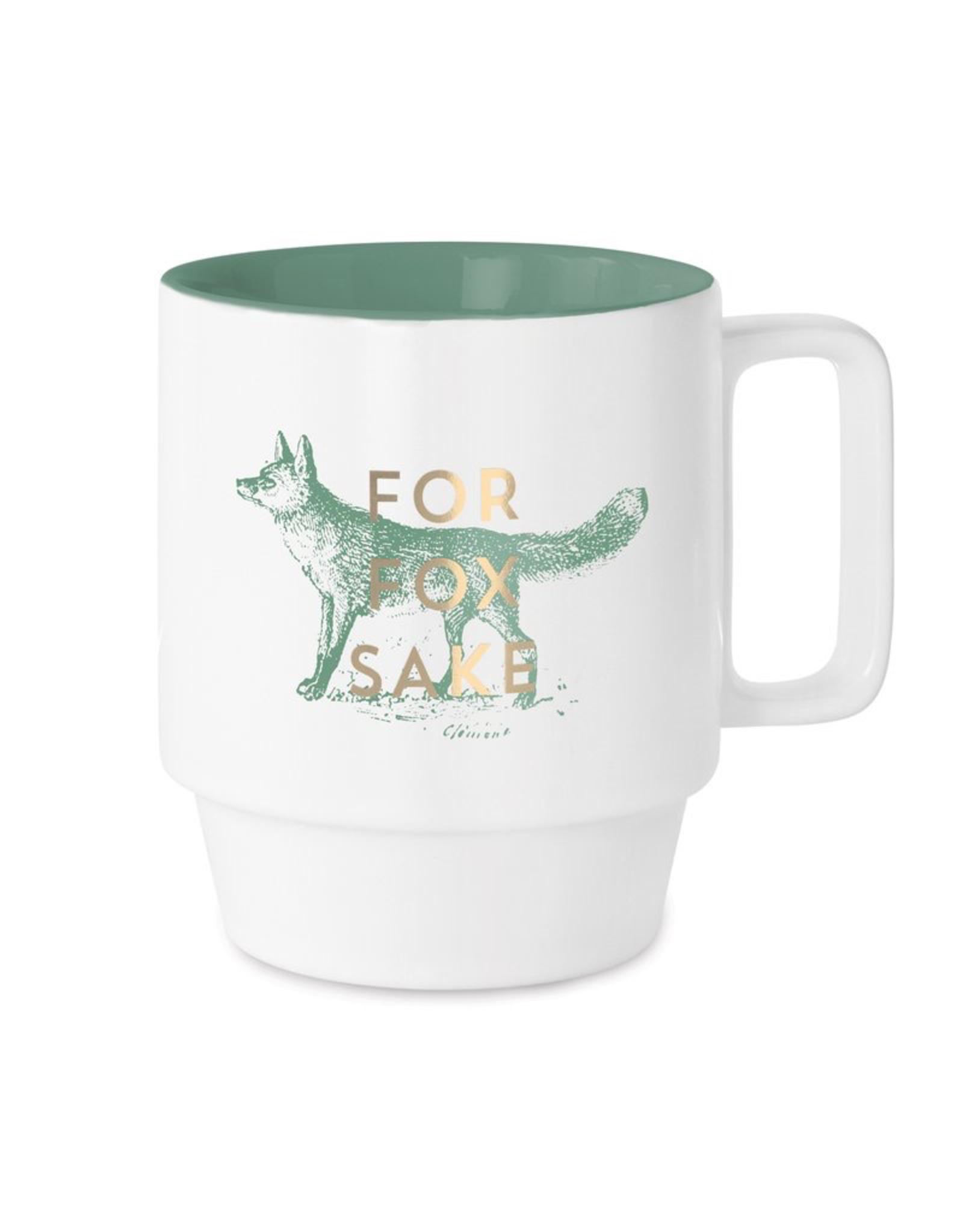 For Fox Sake Mug 12oz.