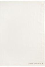 Tea Towel, Eggshell Linen, Embroidered