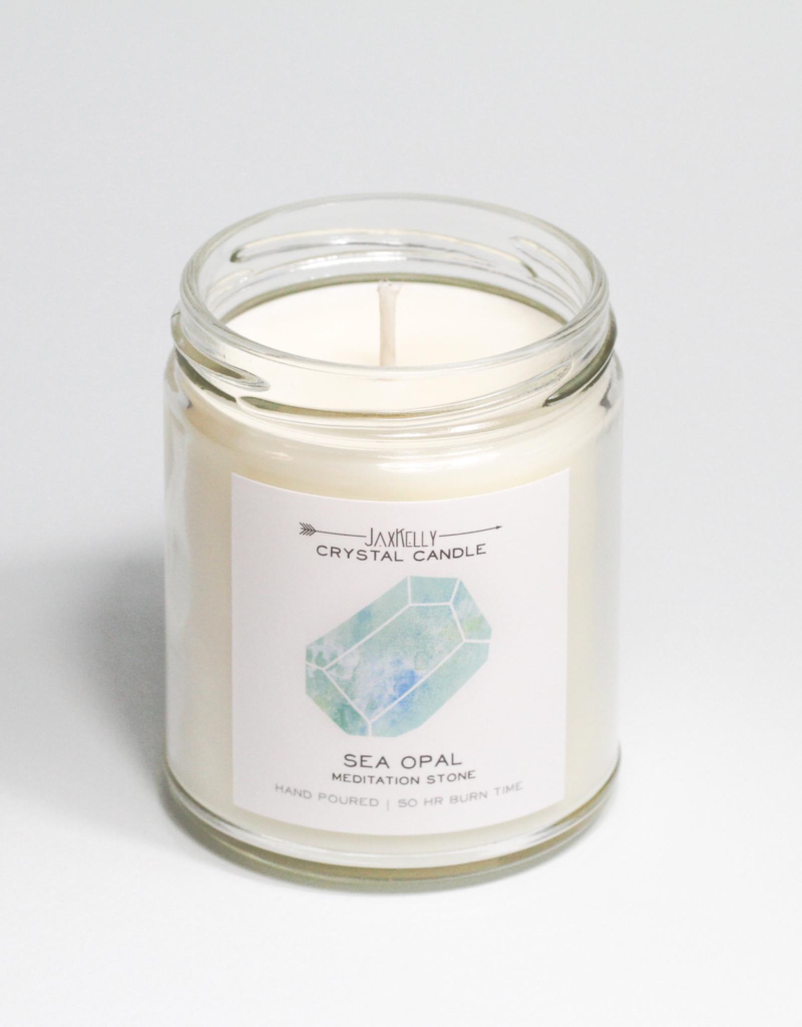 Candle, Hidden Crystal, Sea Opal