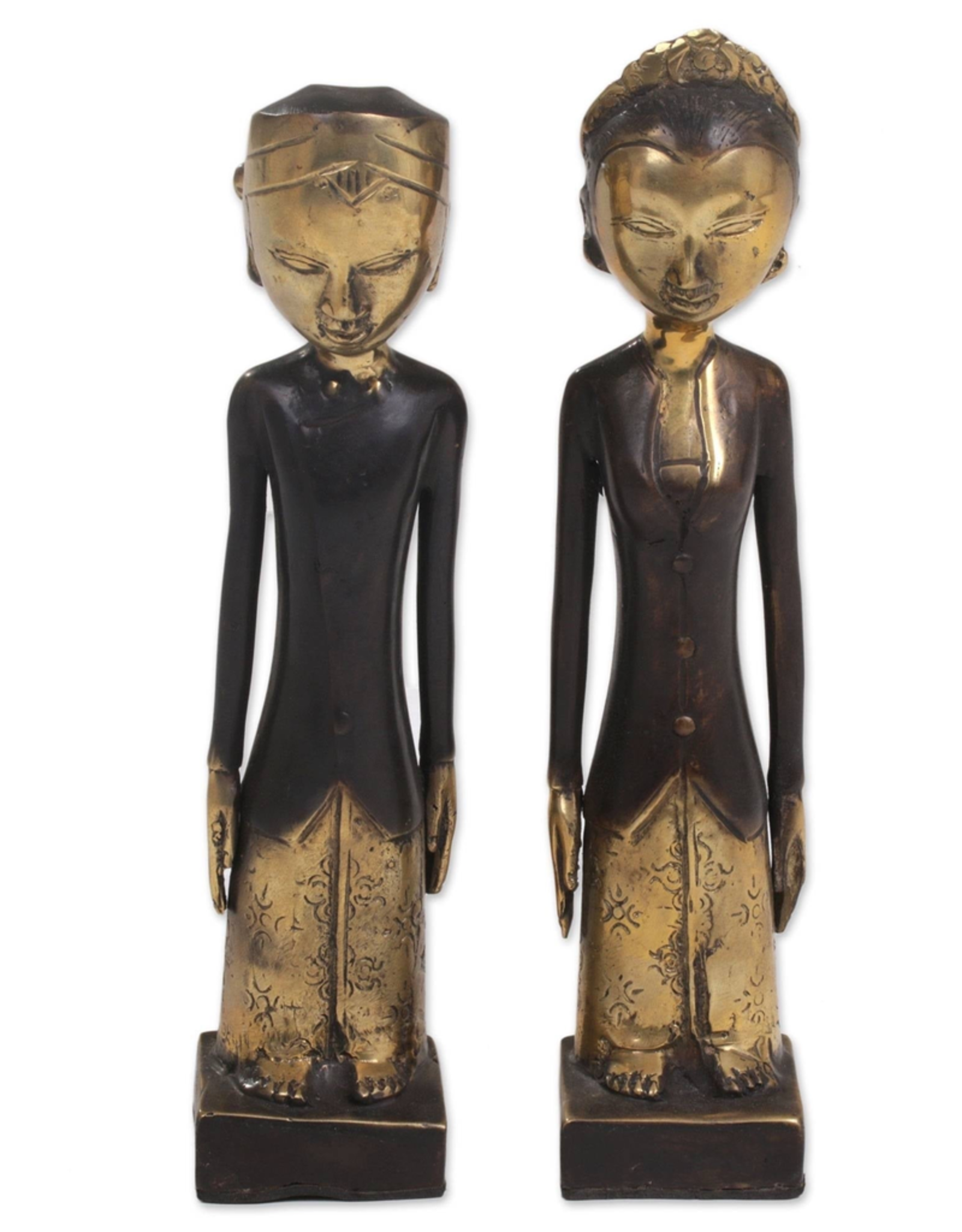 Sculpture, Javanese Wedding Couple