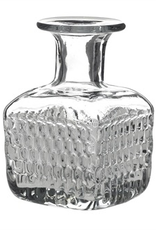 Bottle, Elan, Etched Glass, Square