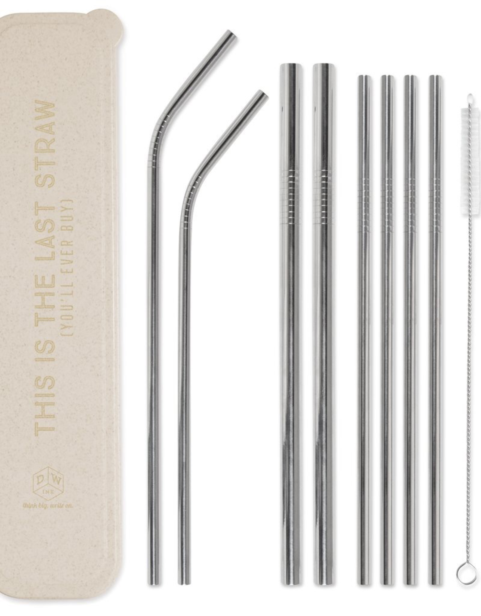 Straw, This Is The Last Straw, Natural, Stainless Steel