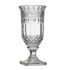 "6.25""x 13"" Clear Cut Glass Marnier Vase"
