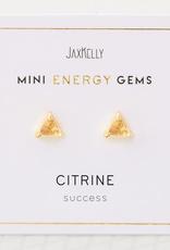 Citrine Mini Energy Gem Earrings