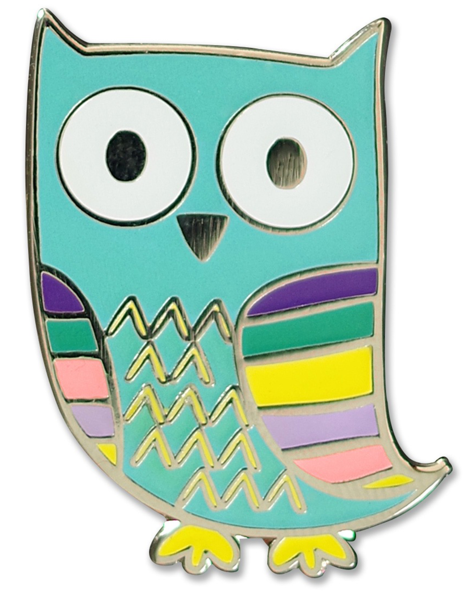 Pin, Owl, Enamel
