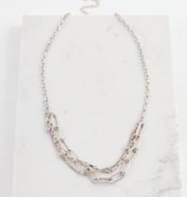 Shay Necklace - Silver