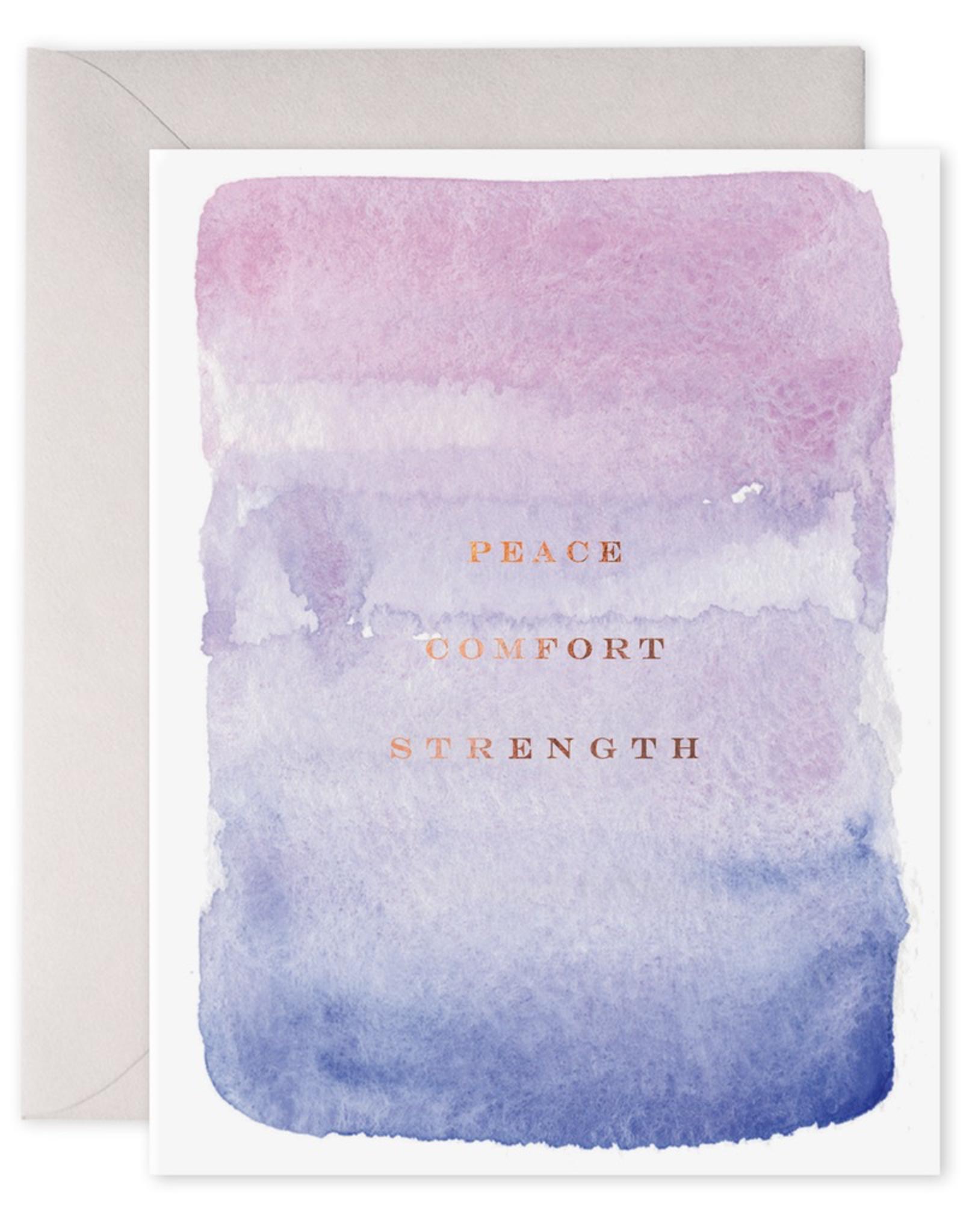 Peace Comfort Strength Card