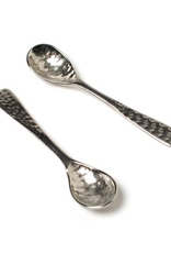 Spoon, Mini Hammered Aluminum