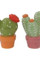 Salt & Pepper, Ceramic, Cactus