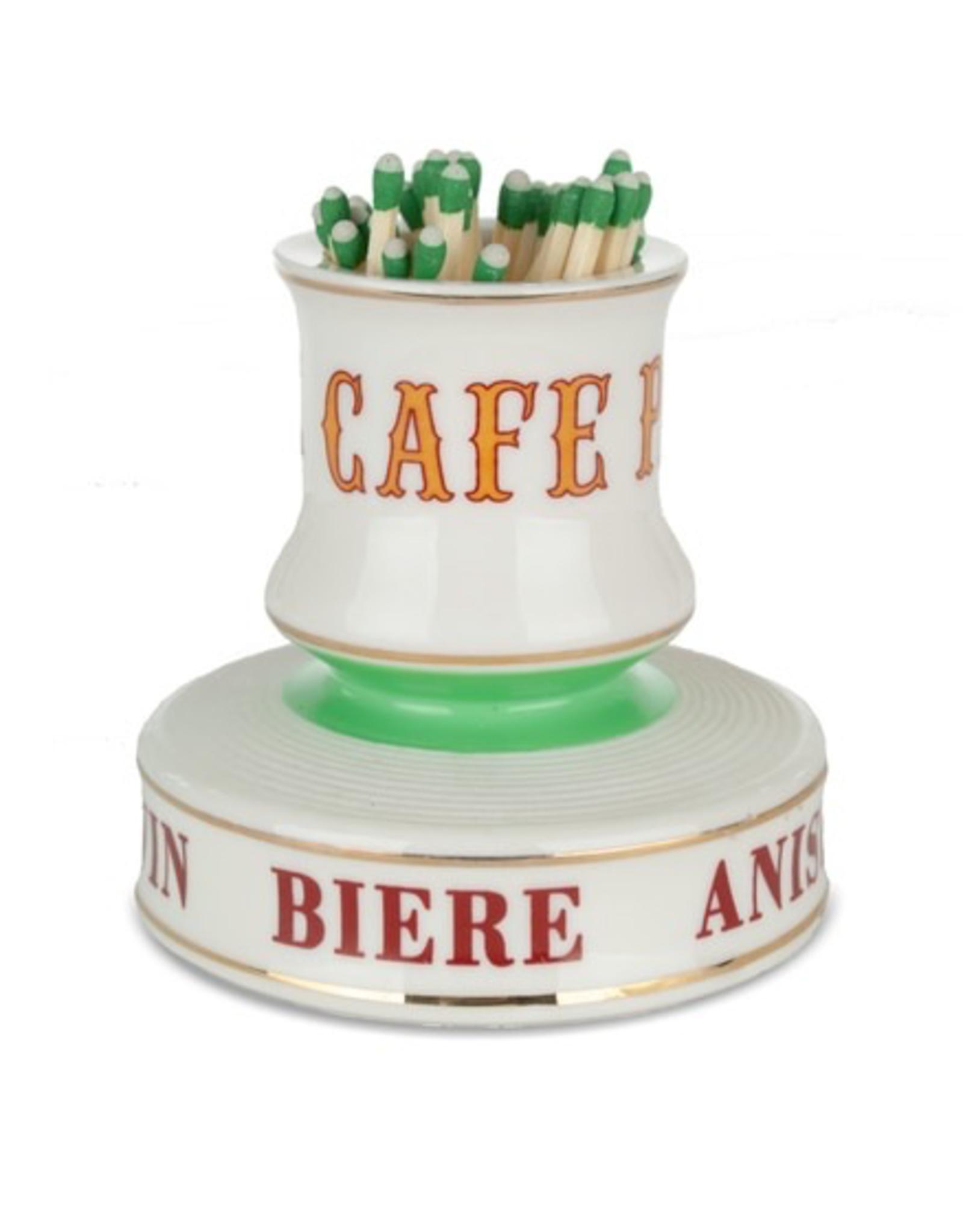 Match Strike, Cafe Paris
