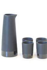 Stoneware Sake Set
