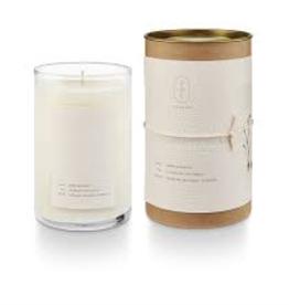 Amber Bergamot Glass Tube Candle