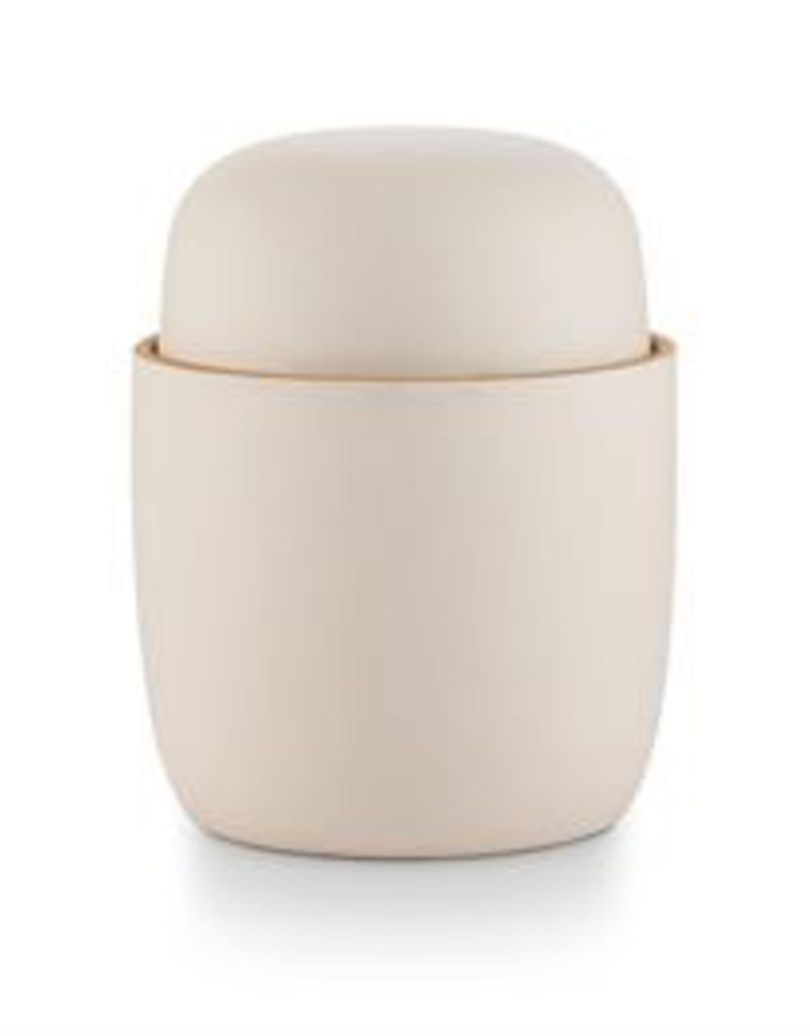 Amber Bergamot Lidded Ceramic Candle
