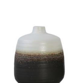 """8"""" Round Ombre Reactive Glaze Vase"""