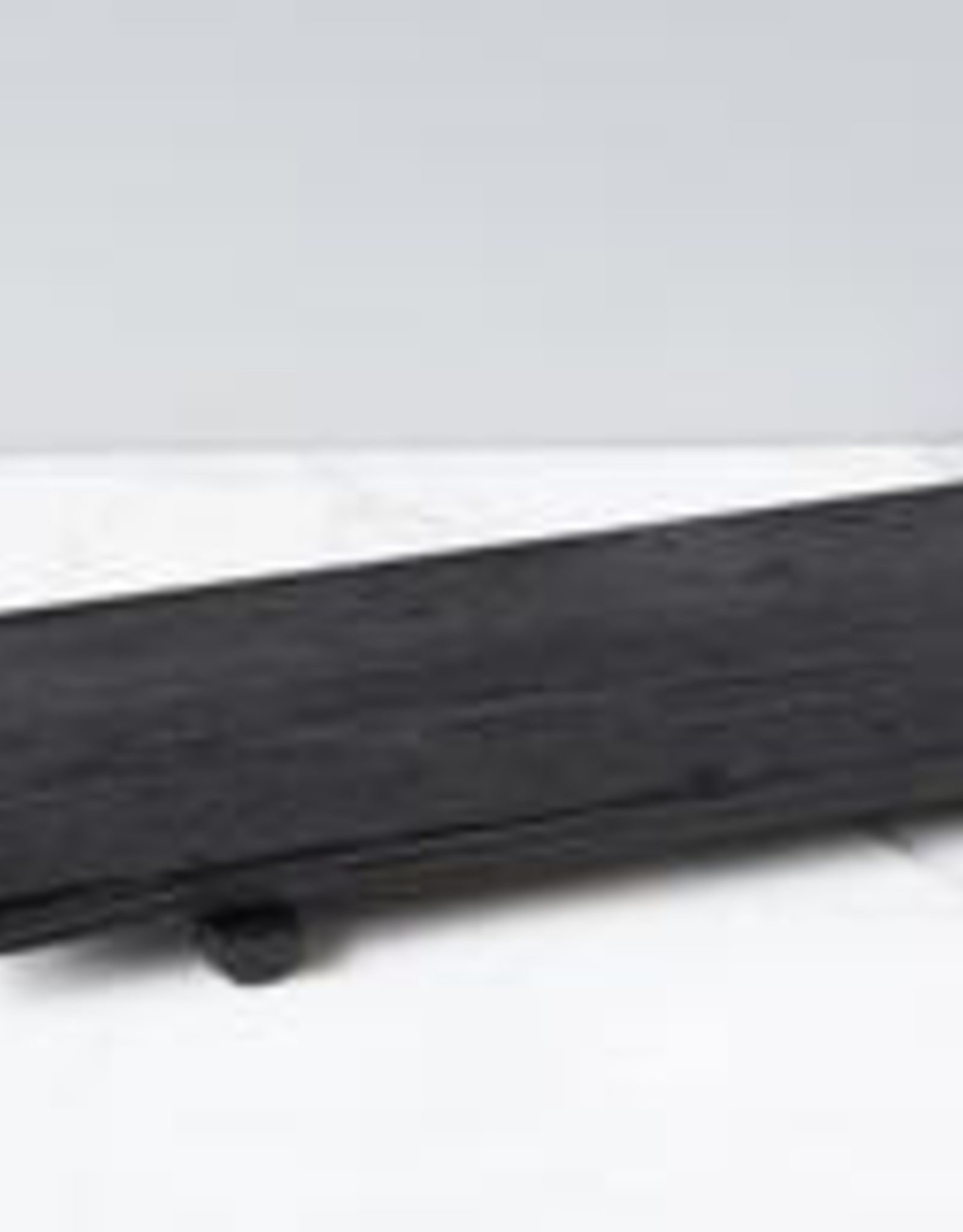 "Brassiere Footed Tray, Black Finish, L29"" W9"""