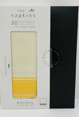Napkin, Sunny Yellow, Boxed