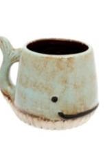 Aqua Whale Mug