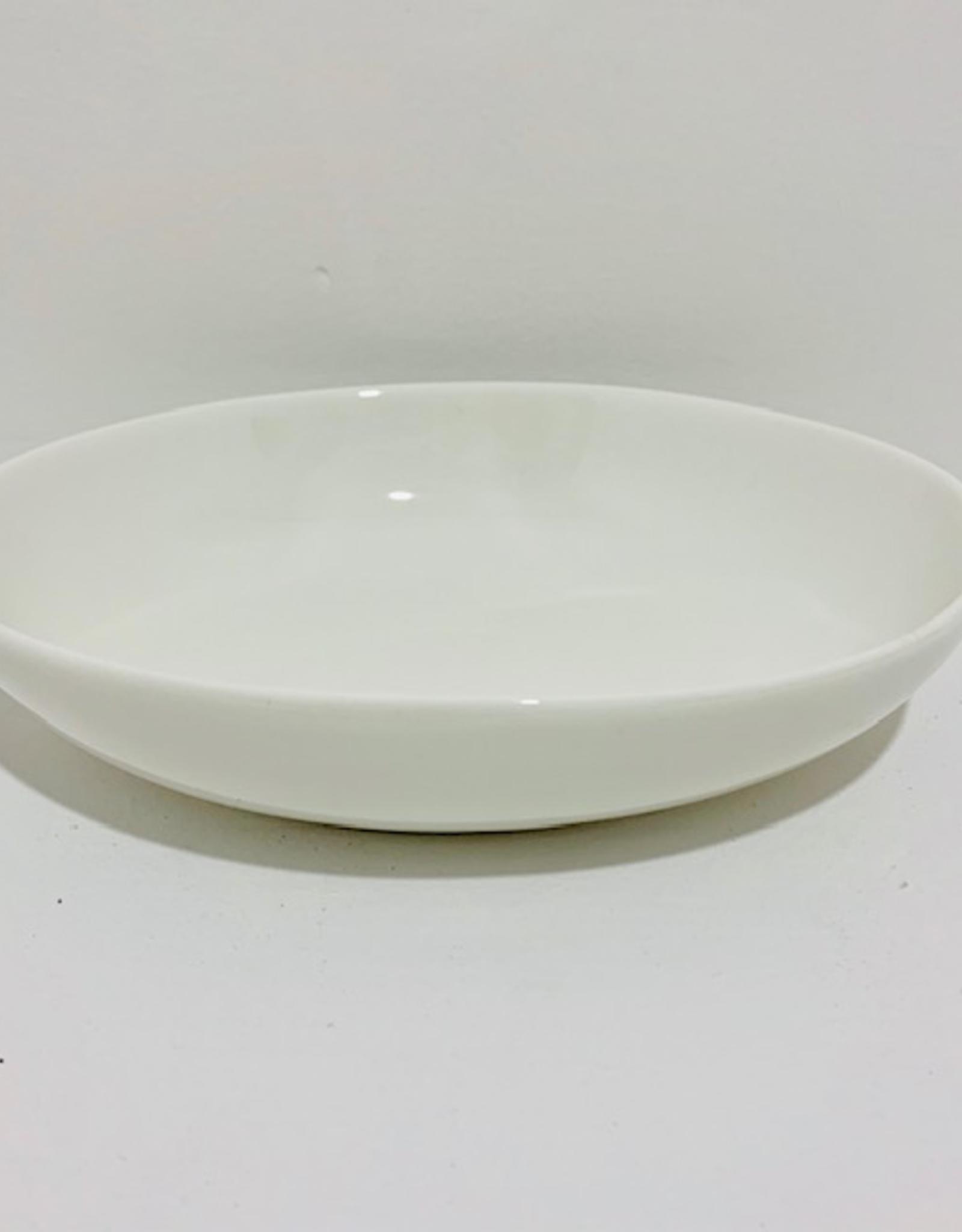 "Oval White Serving Dish, L7"" W5.5"""