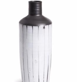 """D6.5"""" H16.75"""" Mombasa Stripe Bottle"""
