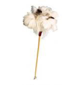 60cm White Feather Duster