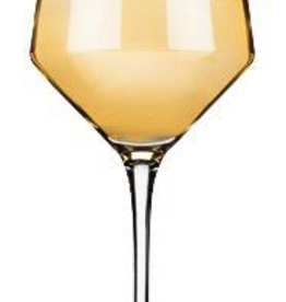 Glass, Chardonay, Angled Crystal