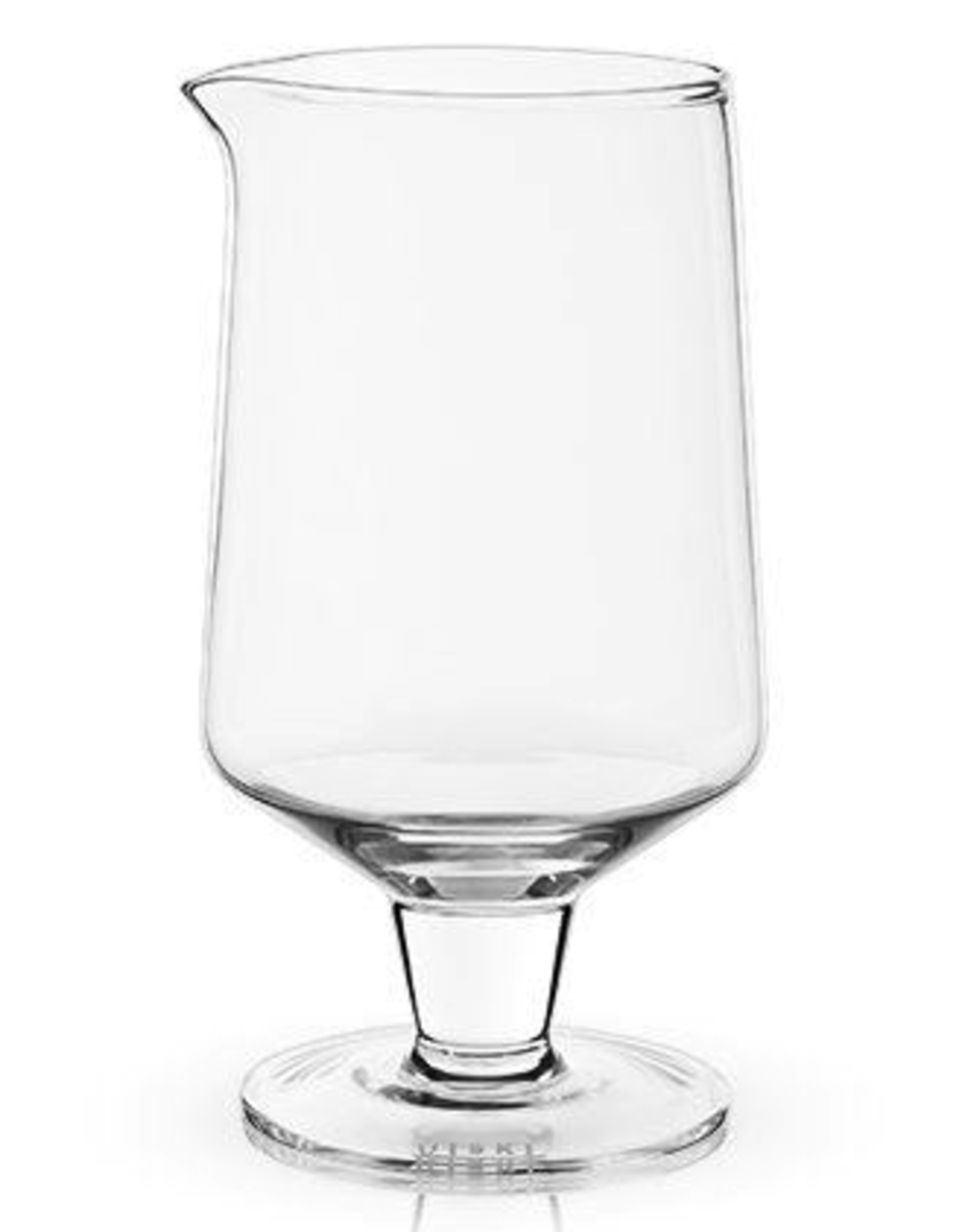 Mixing Glass, Stemmed, Crystal, by Visky