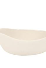 Pouring Dish, Stoneware, White, Starling