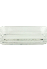 Soapdish, Crystal Tray Clear, Rectangle