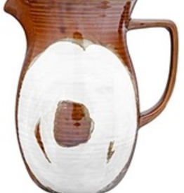 42oz Reactive Glaze Stoneware Pitcher