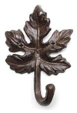 Hook, Maple Leaf, Cast Iron