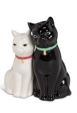 Salt & Pepper, Cuddling Cat