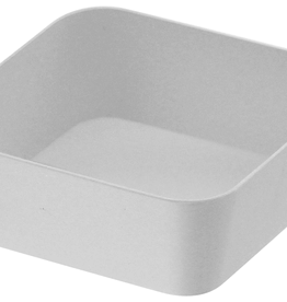 Amenity Tray, White Metal Square, Small