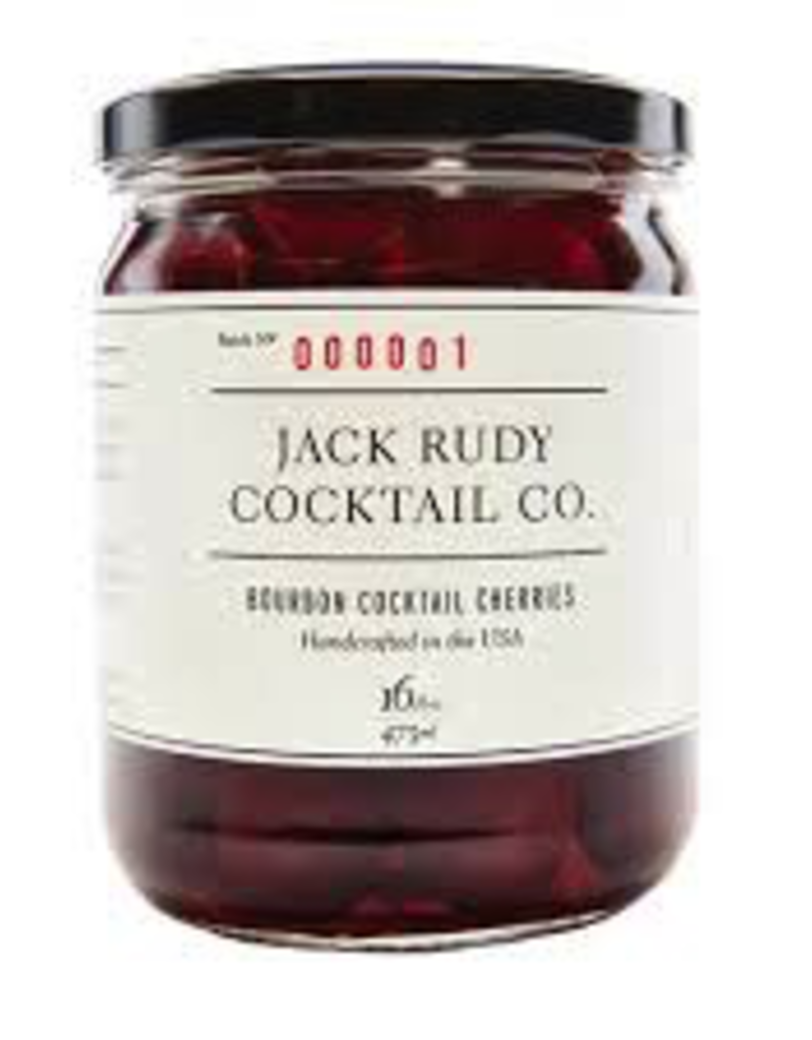 Jack Rudy Bourbon Cocktail Cherries 13.5oz.