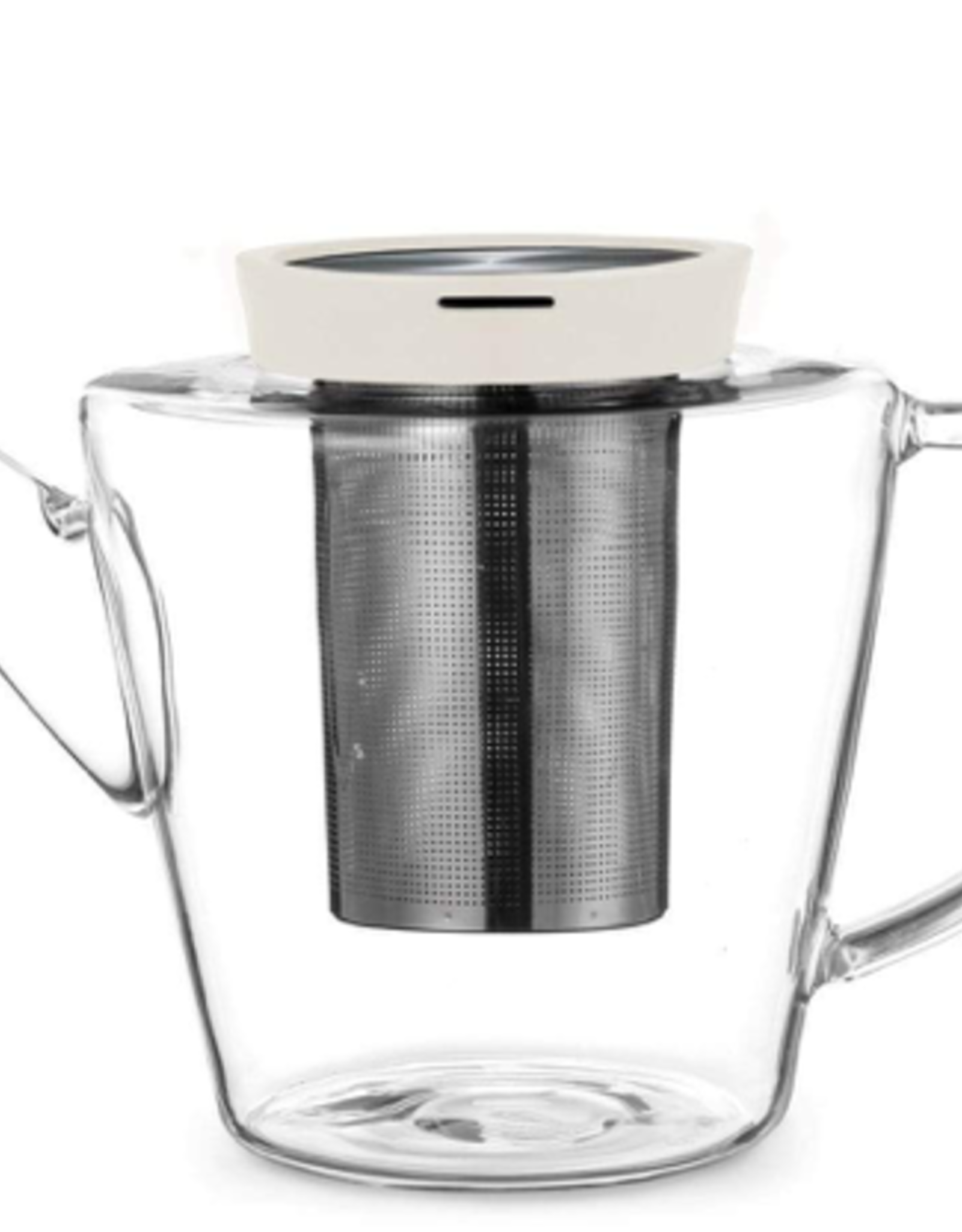 Teapot, Infusion, Glass, Buttermilk