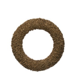 "Pepper Shell Wreath Gold Glitter D24"" - Reg $115 - Now $57.50"