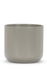 "Planter, Dark Grey Ceramic, 5"""