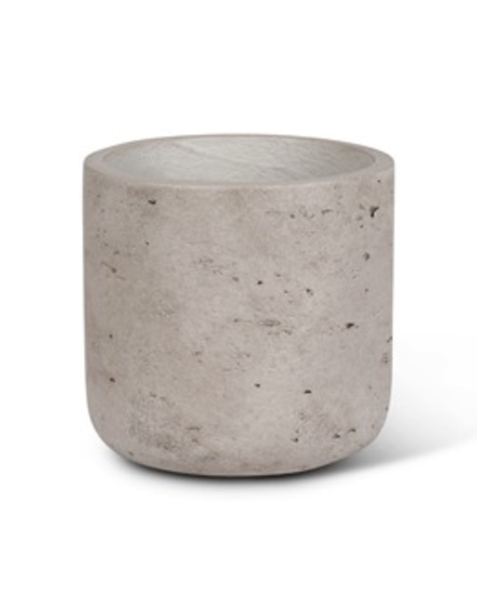 Small Grey Quarry Pot 4.5""
