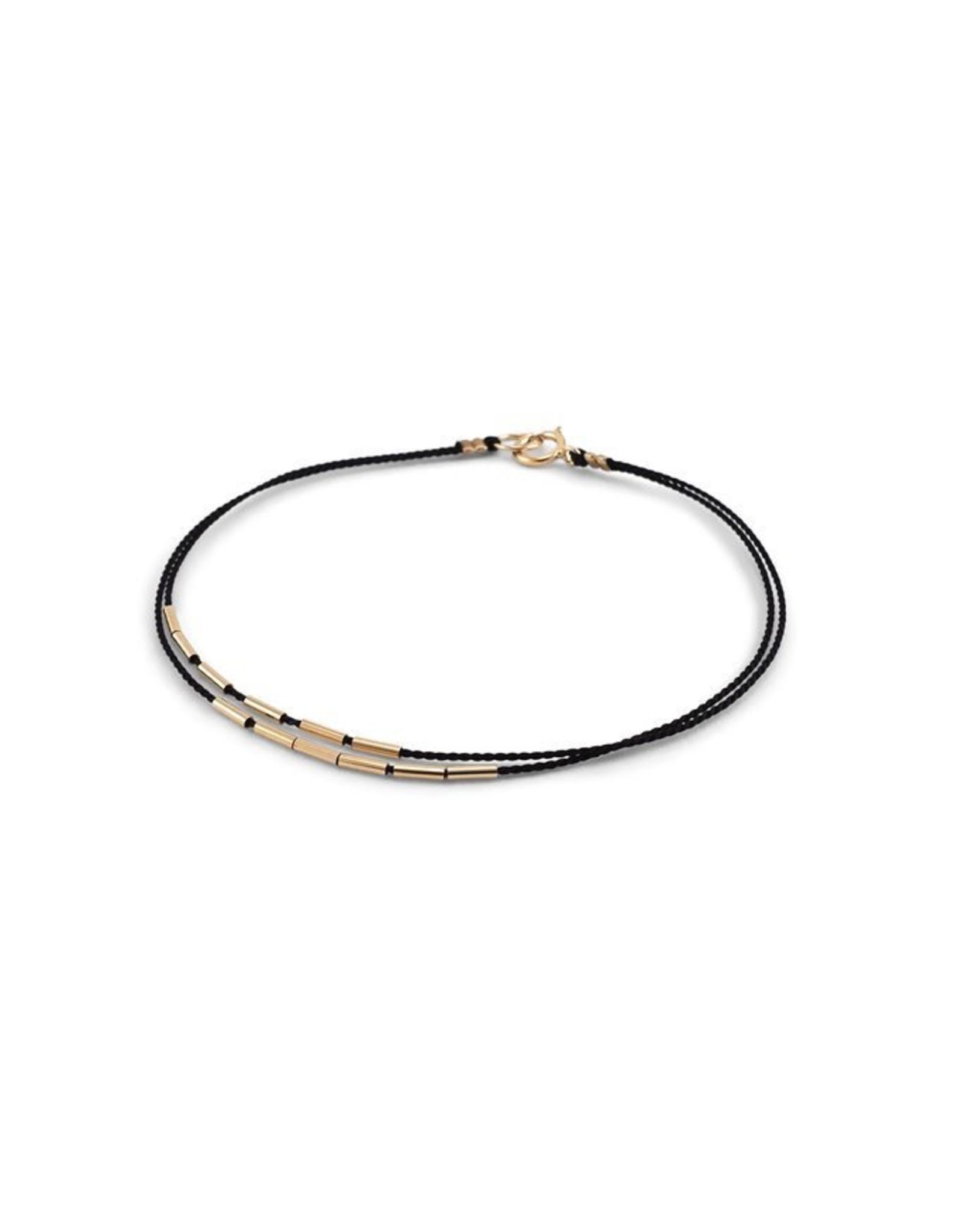 """Bracelet, Andromeda, Black, 6.5"""""""
