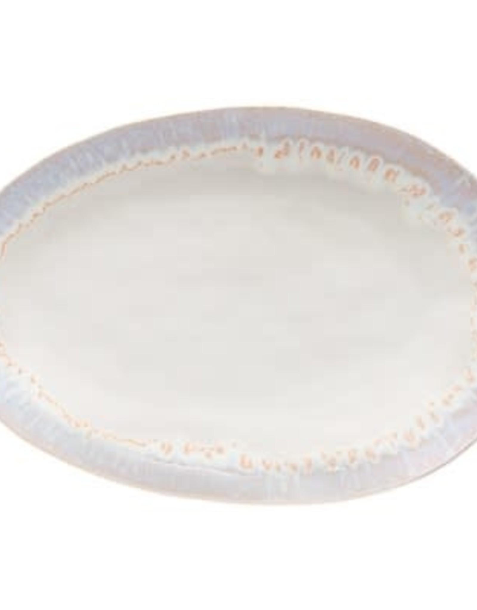 """Brisa Salt Oval Platter L16"""" W11"""""""