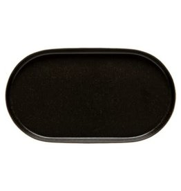 Notos Black Oval Platter