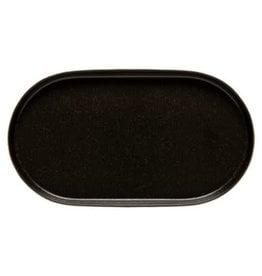 Notos Black Oval Platter