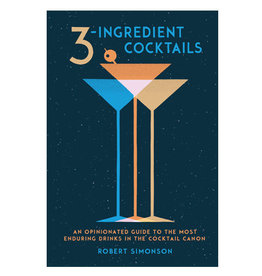 3 Ingredient Cocktails Book